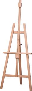 Malířský stojan AMI z lehkého bukového dřeva, nastavitelná výška a sklon