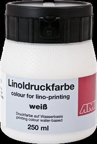 Barva na linoryt AMI 250ml - bílá