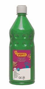 Prstová barva JOVI, 750 ml - zelená