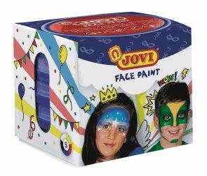 Obličejové barvy JOVI 5 x 20ml