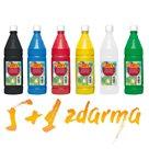 Sada temperových barev JOVI PREMIUM 1 L -  5 + 1 ZDARMA