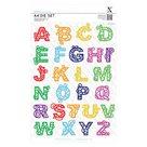 Vyřezávací kovové šablony A4 Xcut - Filigránová abeceda (26ks)
