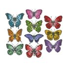 Vyřezávací kovové šablony Framelits - Motýli (20ks)