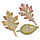 Vyřezávací šablona Bigz - Listy stromů