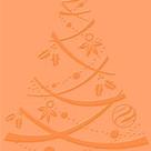 Embosovací kapsa - Vánoční strom
