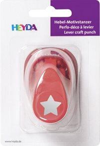 Ozdobná děrovačka na papír Heyda, 17 mm - Hvězda