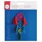 Kreativní sada na výrobu lapače snů barevný (velikost 14 x 41 cm)