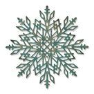 Kovová vyřezávací šablona Thinlits - Sněhová vločka 2 ( 1 ks)