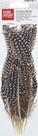 Dekorativní peříčka bažantí 8 ks - kropenatá