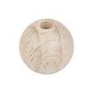 Dřevěné korálky průměr 10 mm (47 ks)