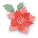 Vyřezávací šablona Bigz  - Vánoční růže