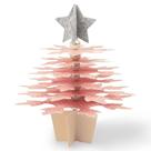 Vyřezávací šablona Bigz - Vánoční stromek z 3D vloček