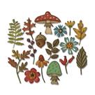 Kovové vyřezávací šablony Thinlits - Podzim (20ks)