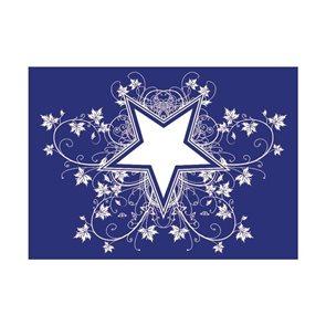 Šablona na sítotisk A4 - Hvězdy