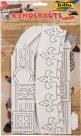 Papírové korunky pro následnou dekoraci - DOBRODRUŽSTVÍ - 3 ks