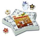 Dárkové krabičky - hvězdy - 25 ks - bílé
