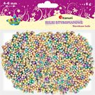 Polystyrenové kuličky, 4-6 mm - pastelový mix