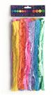 Modelovací drátky - chlupaté, mix barev, 30 cm, 10 ks