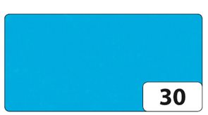 Hedvábný papír 50x70 cm, 20 g, 26 listů - barva modrá