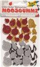 Samolepicí pěnové výseky se třpytkami - Vánoce