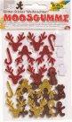 Samolepicí pěnové výseky se třpytkami - Vánoce 2