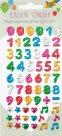 Folia 3D samolepky - číslice