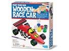Vymaluj si závodní auto (dřevěné)