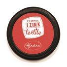 Textilní razítkovací polštářek IZINK - červená
