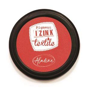 Textilní razítkovací polštářek Aladine IZINK - červený