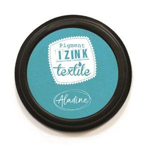 Textilní razítkovací polštářek Aladine IZINK - tyrkysový