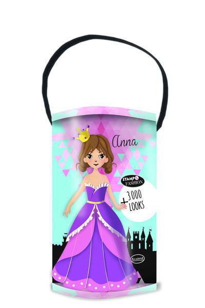 Razítka Aladine - převlékací panenky - Princezny