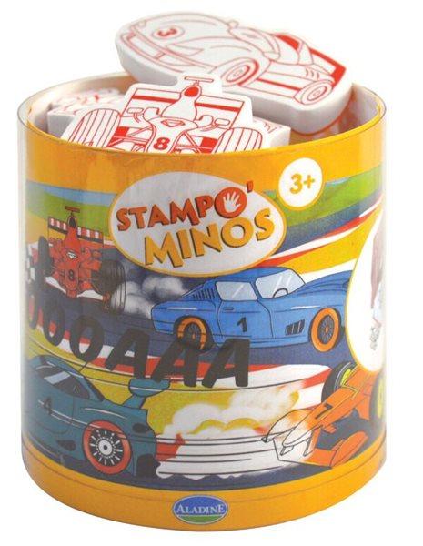 Gumová razítka - Závodní auta
