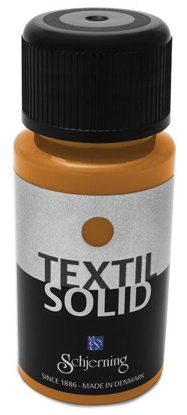 Barva na textil Solid, 50ml, oranžová