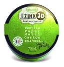 3D strukturovací pasta IZINK, perleťová světle zelená