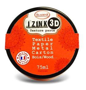 3D strukturovací pasta IZINK, oranžová