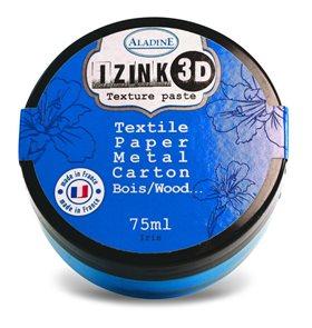 3D strukturovací pasta IZINK, modrá
