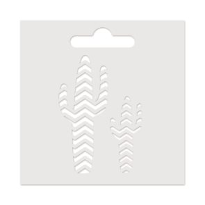 Plastová šablona Aladine - Kaktus (8 x 8cm)
