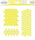 Plastová šablona Aladine - Geometrie a vzory
