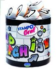 Gumová razítka - Graffiti abeceda