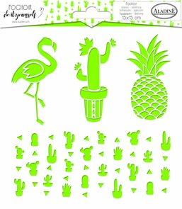 Plastová šablona Aladine - Kaktusy
