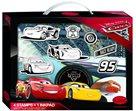 Disney kufřík s razítky Aladine - Cars