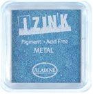 Inkoust IZINK mini, pomaluschnoucí - metalická světle modrá