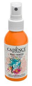 Textilní barva ve spreji Cadence, 100 ml - oranžová