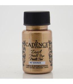 Akrylová barva Cadence DORA metalic, 50 ml - bronzová
