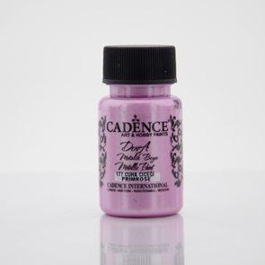 Akrylová barva Cadence DORA metalic, 50 ml - růžová
