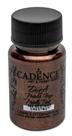 Akrylová barva Cadence DORA metalic, 50 ml - kaštanová