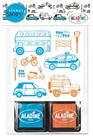 Vyprávěcí razítka StampoStory - Dopravní prostředky