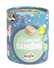 Dřevěná razítka Aladine StampoBambino - Jednorožci