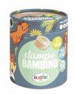 Dřevěná razítka Aladine StampoBambino - Dinosauři
