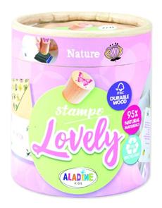 Dřevěná razítka Aladine StampoLovely - Příroda